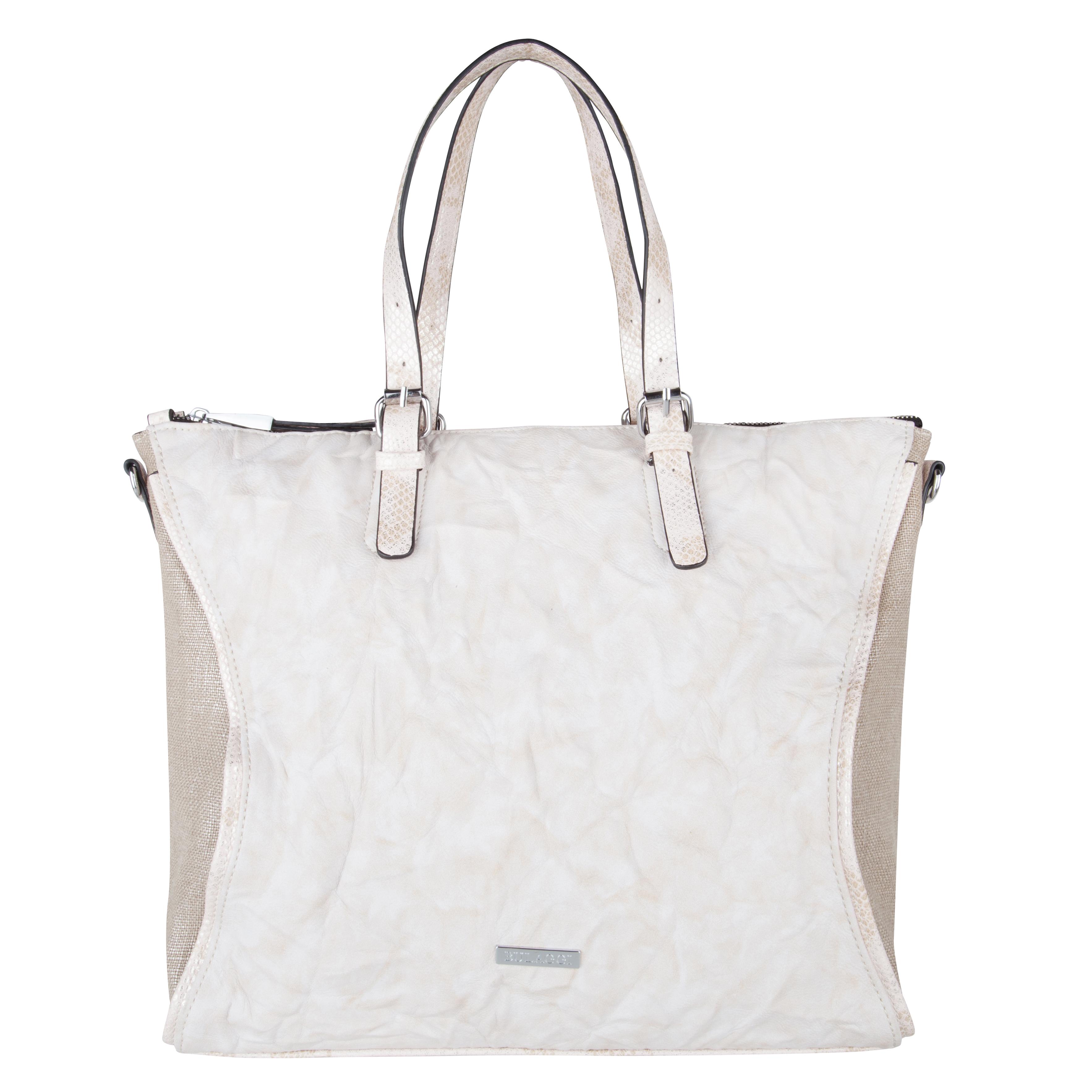 Béžová luxusní koženková kabelka Bulaggi 30277 fcaeb5aa19b